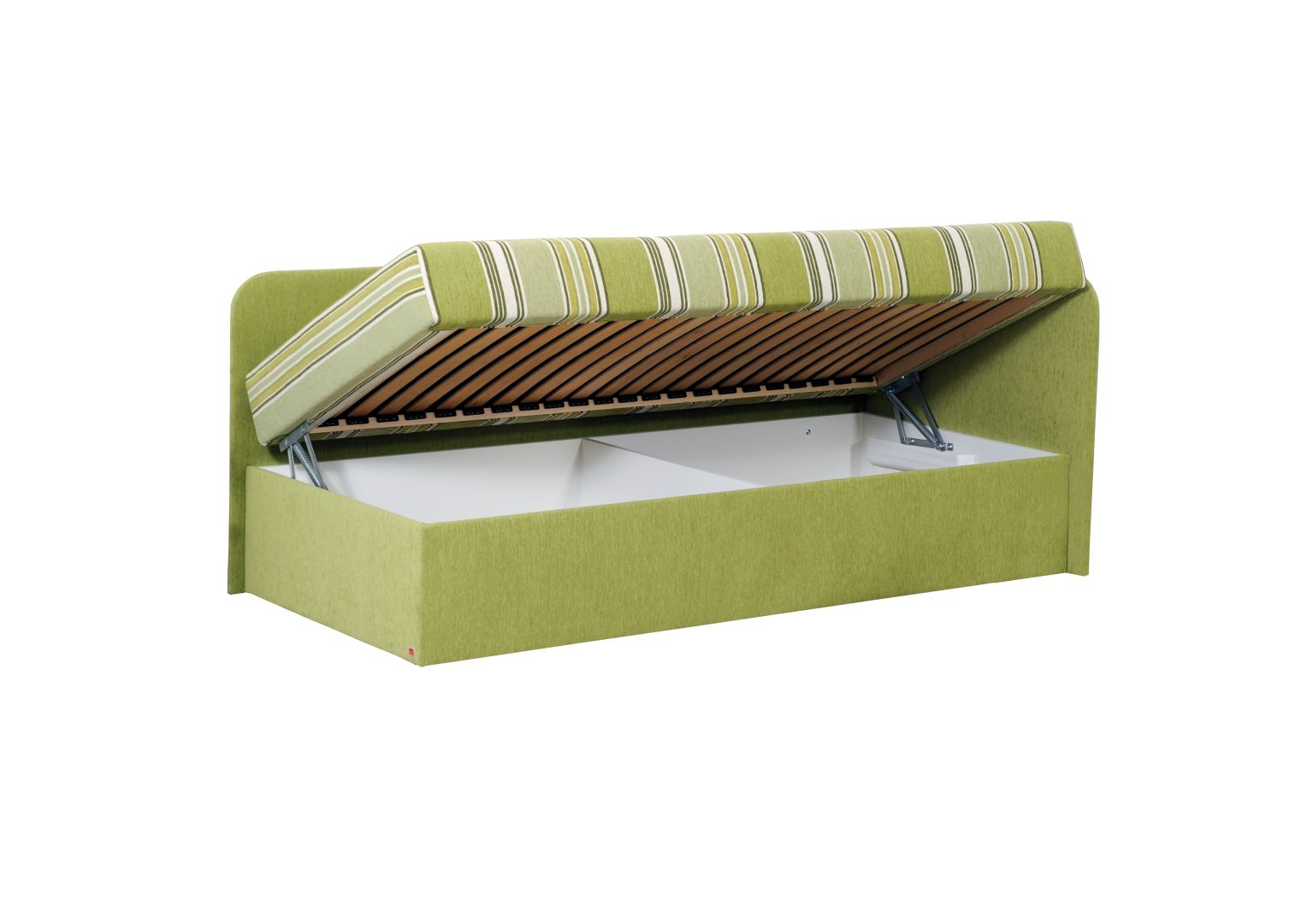 APOLÓN jednolůžková postel s úložným prostorem