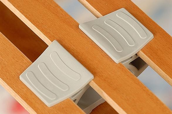 AMORFLEX TRIO FIX lamelový fixní zátěžový rošt do postele