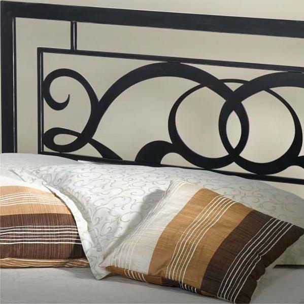 GRANADA kovová kovaná dvoulůžková postel kanape
