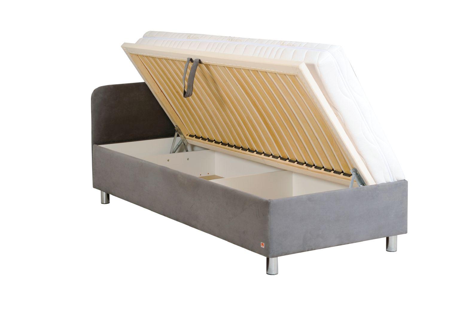 KLIO jednolůžková postel s úložným prostorem