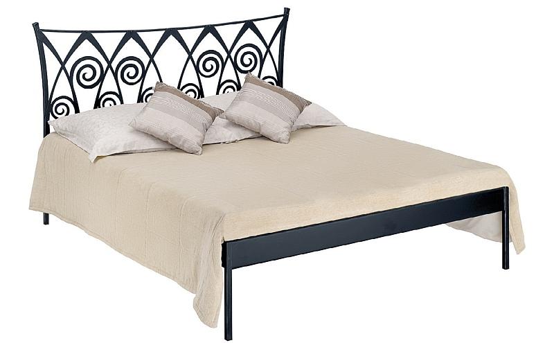 RONDA KANAPE kovová kovaná dvoulůžková postel
