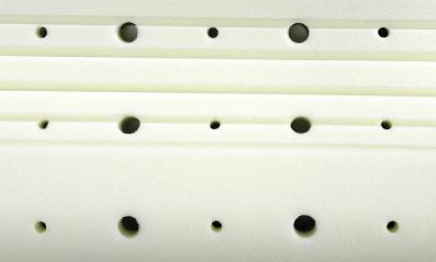 TEDD ortopedický polštář z visco pěny s výztuhou