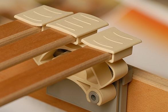 TLITAT mechanický lamelový polohovací rošt do postele